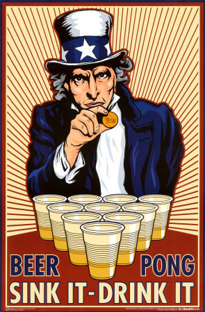 Beer pong un jeu qui tape tout l taptoula - Fabriquer une table de beer pong ...