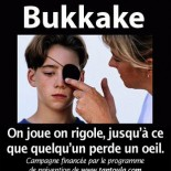Le bukkake ne doit pas tre ralis sans prcaution !