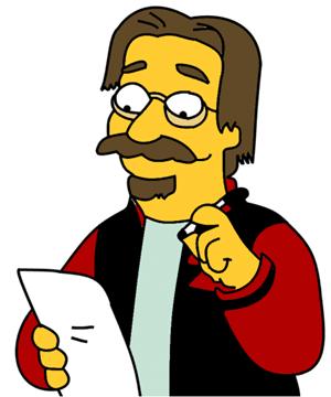 Le Vrai Homer Simpson Matt Groening Navait Rien Invente