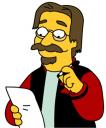 Photo récente de Matt Groening, au coeur de la polémique