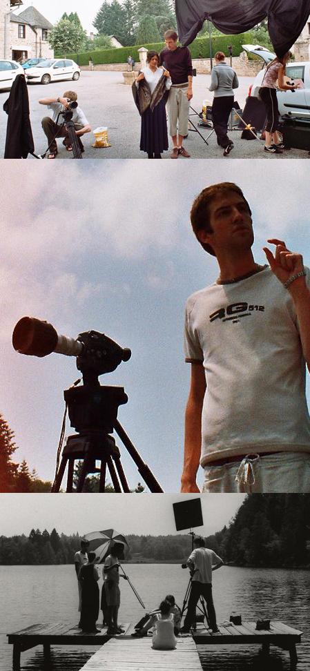 Côté coulisses : Sébastien Lefebvre et son équipe