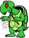 Le tabac détruit même la vie de gentilles tortues