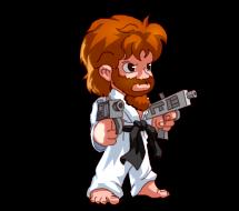 Chuck Norris fait péter ta brute