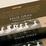Le faux foie gras anglais