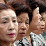Des japonaises matures qui attendent leur tour