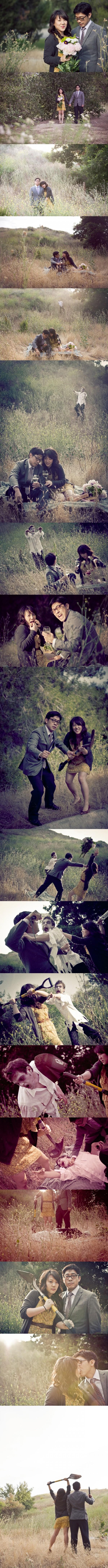 Un zombie s'invite au mariage